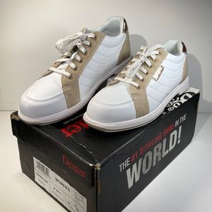 Dexter Groovie IV White/Rose Gold Bowling Shoes